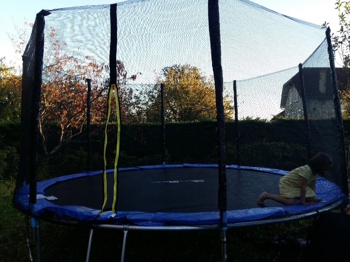 trampoline taille