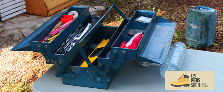 boîte à outils couverture